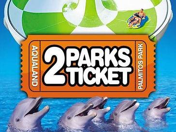 2 Parks Ticket Aqualand-Palmitos