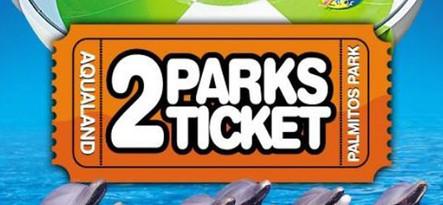 Gran Canaria 2 Parks Ticket Aqualand+ Palmitos