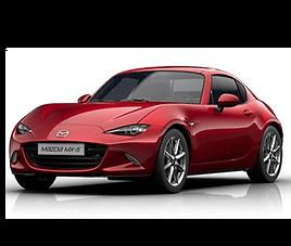 Mazda MX5 RF, 2 drzwi, 2 miejsca, radio, klimatyzacja, manualna skrzynia biegów