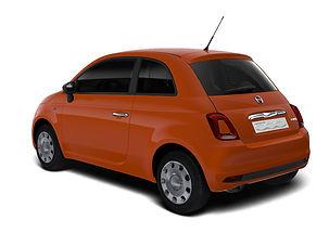 Fiat 500 Hybrid,  3 drzwi, 4 miejsca, radio, klimatyzacja, manualna skrzynia biegów