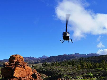 Lot Helikopterem Isla Baja