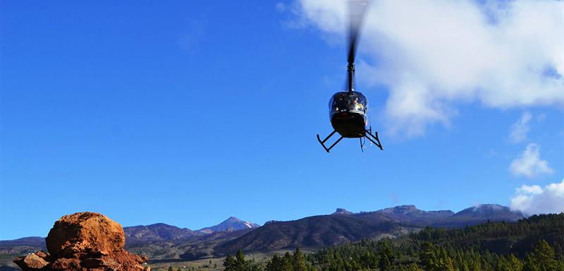 Teneryfa Lot Helikopterem Isla Baja