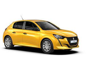Peugeot 208 aut., 5 drzwi, 5 miejsc, radio CD, klimatyzacja, automatyczna skrzynia biegów