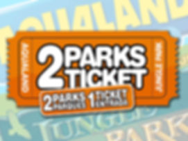 2 Ticket Jungle Park i Aqualand