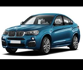 BMW X4, 5 drzwi, 5 miejsc, radio CD, klimatyzacja, automatyczna skrzynia biegów