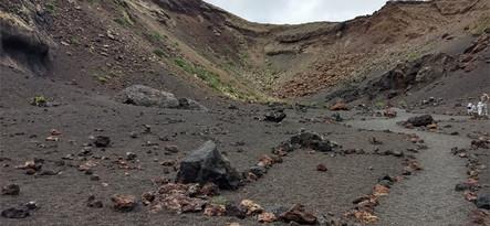 Lanzarote moja własne wyciecczka Volcan el Cuervo