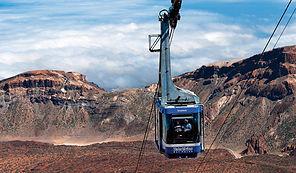 Pico del Teide Trekking Kolejka Linowa