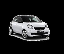 Smart 4 aut., 4 drzwi, 4 miejsca, radio, klimatyzacja, automatyczna skrzynia biegów