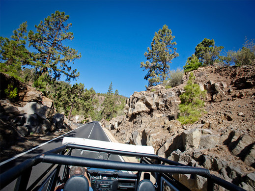 Jeep safari Teide-Masca z północy