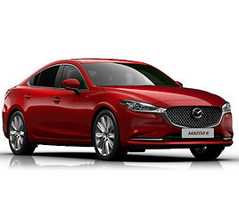 Mazda 6, 4 drzwi, 5 miejsc, radio, klimatyzacja, manualna skrzynia biegów