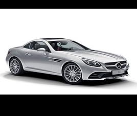 Mercedes SLC, 2 drzwi, 2 miejsc, radio, klimatyzacja, automatyczna skrzynia biegów,