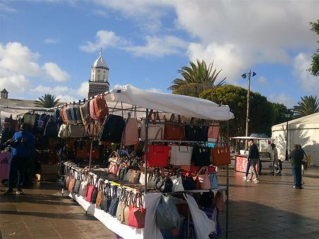 Targowa niedziela w Teguise