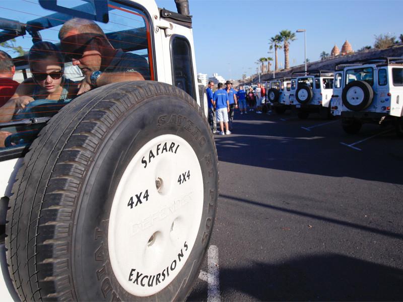 Teneryfa Jeep safari Teide-Masca