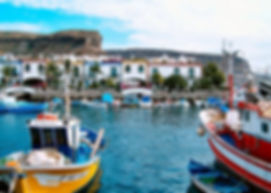 Puerto de Mogan Targ Senegalski