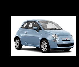 Fiat 500, 3 drzwi, 4 miejsca, radio, klimatyzacja, manualna skrzynia biegów