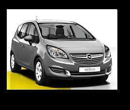 Opel Meriva, 5 drzwi, 5 miejsc, radio CD, klimatyzacja, manualna skrzynia biegów