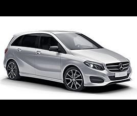 Mercedes B aut., 5 drzwi, 5 miejsc, radio CD, klimatyzacja, automatyczna skrzynia biegów,