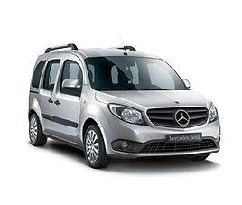 Mercedes Citan 5 Pax Family, 5 drzwi, 5 miejsc, radio CD, klimatyzacja, manualna skrzynia biegów