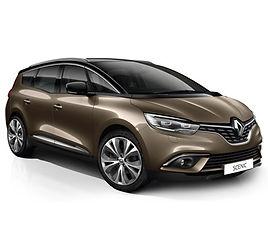 Renault Scenic Grand, 5 drzwi, 7 miejsc, radio, klimatyzacja, manualna skrzynia biegów
