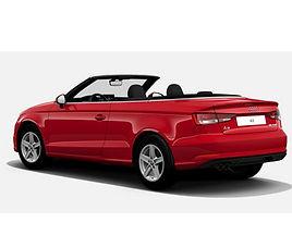 Audi A3 Cabrio, 2 drzwi, 4 miejsca, radio CD, klimatyzacja, manualna skrzynia biegów