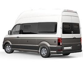 VW Grand California, 3 drzwi, 4 miejsca, radio, klimatyzacja, automatyczna skrzynia biegów,