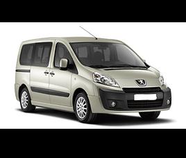 Peugeot Expert, 4 drzwi, 9 osób, radio, klimatyzacja, manualna skrzynia biegów