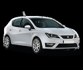 Seat Ibiza 5d, 5 drzwi, 4 miejsca, radio, klimatyzacja, manualna skrzynia biegów
