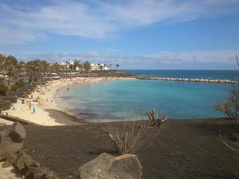 Lanzarote Targ w Playa Blanca