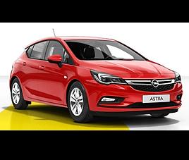 Opel Astra 5d, 5 drzwi, 5 miejsc, radio, klimatyzacja, manualna skrzynia biegów