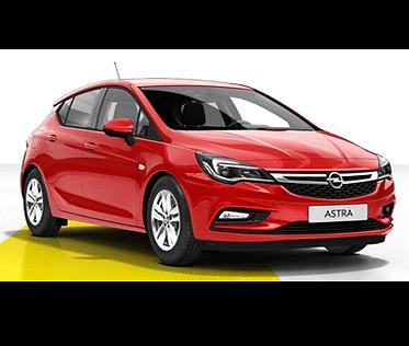 Opel Astra 5d aut.
