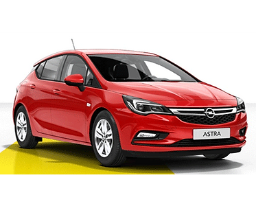Opel Astra 5d inwalida