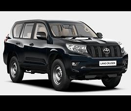 Toyota Land Cruiser 7 , 5 drzwi, 7 miejsc, radio CD, klimatyzacja, manualna skrzynia biegów