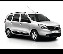 Dacia Lodgy, 5 drzwi, 7 miejsc, radio, klimatyzacja, manualna skrzynia biegów,