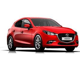 Mazda 3 5d aut., 5 drzwi, 5 miejsc, radio CD, klimatyzacja, automatyczna skrzynia biegów