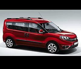 Fiat Doblo 7, 5 drzwi, 7 miejsc, radio, klimatyzacja, manualna skrzynia biegów