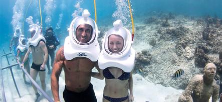 Lanzarote Podwodny spacer