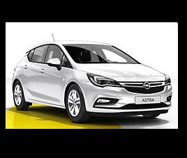 Opel Astra  5d GLP, 5 drzwi, 5 miejsc, radio, klimatyzacja, manualna skrzynia biegów, LPG