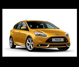 Ford Focus 5d, 5 drzwi, 5 osób, radio, klimatyzacja, manualna skrzynia biegów