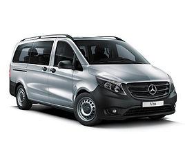 Mercedes Vito aut., 4 drzwi, 9 miejsc, radio, klimatyzacja, automatyczna skrzynia biegów