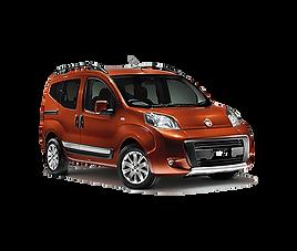 Fiat Qubo, 5 drzwi, 5 miejsc, radio, klimatyzacja, manualna skrzynia biegów