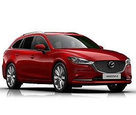 Mazda 6 SW, 5 drzwi, 5 miejsc, radio CD, klimatyzacja, automatyczna skrzynia biegów