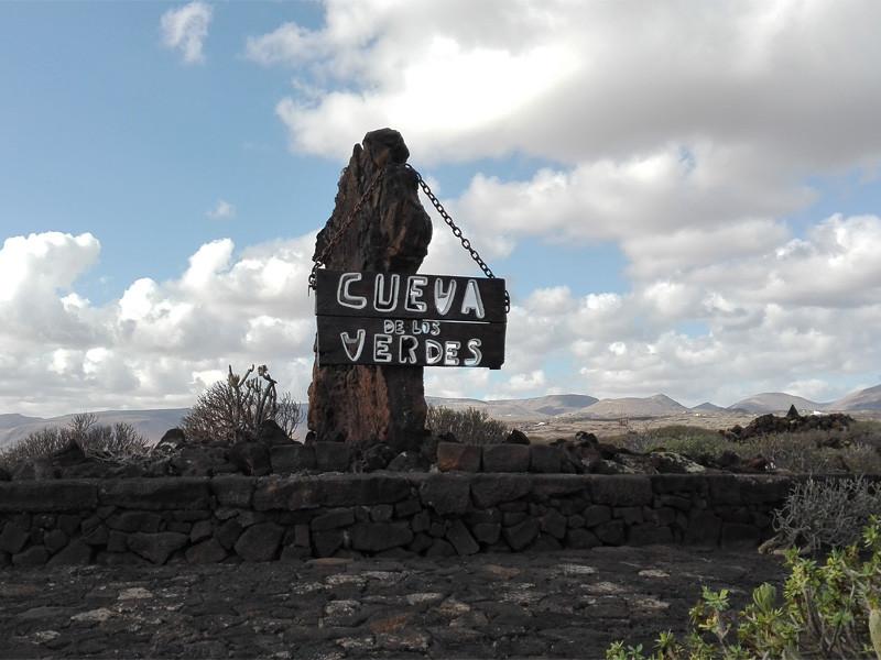 Lanzarote moja własna wycieczka Cueva de los Verdes