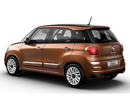 Fiat 500 L, 5 drzwi, 5 miejsc, radio CD, klimatyzacja, manualna skrzynia biegów