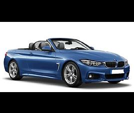 BMW 4 Cabrio, 2 drzwi, 4 miejsca, radio, klimatyzacja, automatyczna skrzynia biegów