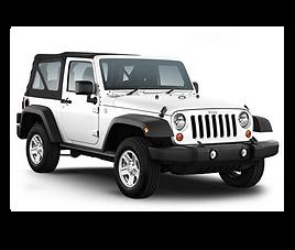 Jeep Wrangler, 3 drzwi, 4 miejsca, radio, klimatyzacja, manualna skrzynia biegów