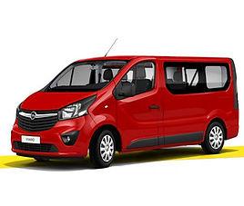 Opel Vivaro inwalida, 4 drzwi, 6 miejsc, radio, klimatyzacja, manualna skrzynia biegów