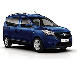 Dacia Dokker family, 5 drzwi, 5 miejsc, radio, klimatyzacja, manualna skrzynia biegów,