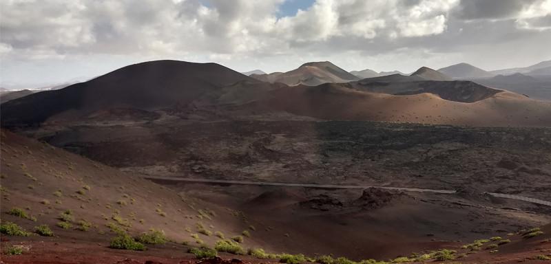Lanzarote moja własna wycieczka Timanfaya