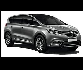 Renault Espace, 5 drzwi, 7 miejsc, radio, klimatyzacja, manualna skrzynia biegów
