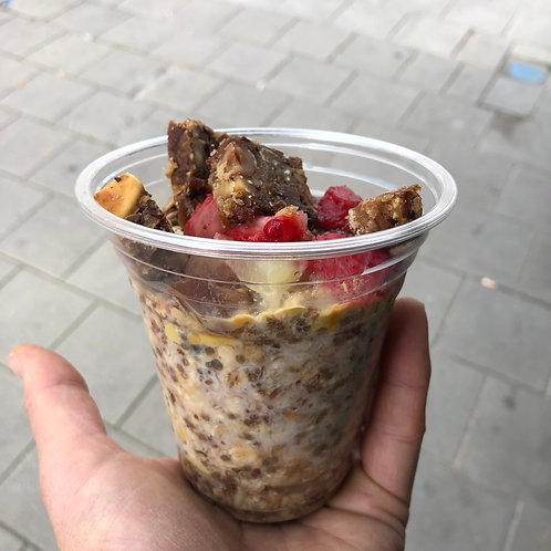 Overnight oat ontbijtje Biobite